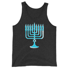Menorah Chanukah Graphic Unisex Tank Top - 100% cotton, Shirt, HEED THE HUM
