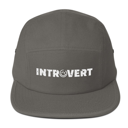 Introvert Five Panel Cap Hat