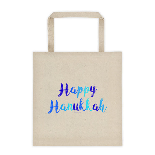 Happy Hanukkah Tote bag, Tote Bag, HEED THE HUM