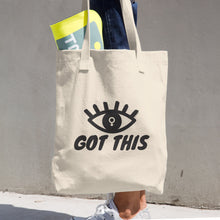 Eye Got This Feminist 13 oz Tote Bag, Tote Bag, HEED THE HUM