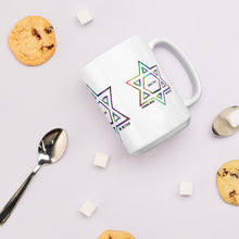 Things Will Be Better - YIHYEH TOV Rainbow Magen David Mug, Mug, HEED THE HUM