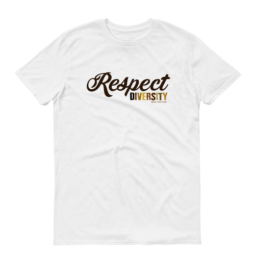 Respect Diversity Unisex T-shirt, Shirts, HEED THE HUM