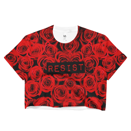 Roses Resist Crop Top