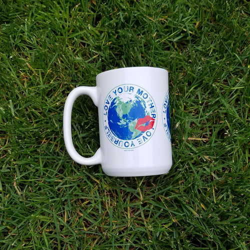 Love Your Mother Love Yourself Environmental Mug, Mugs, HEED THE HUM