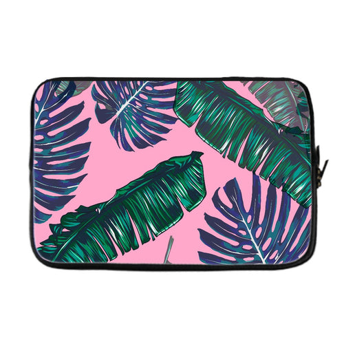 Pink and Palms Laptop Case | numinous.co