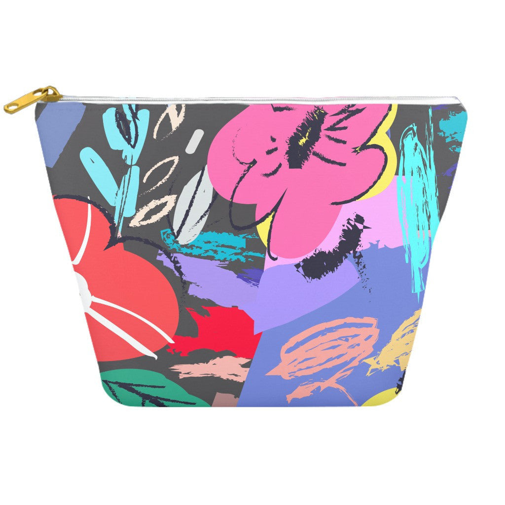 Mexico City Floral Cosmetic Bag | numinous.co
