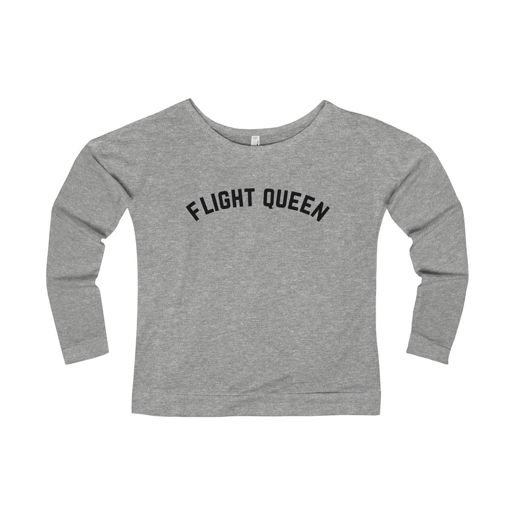Flight Queen Long Sleeve Tee | numinous.co