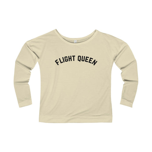 Flight Queen Long Sleeve Tee