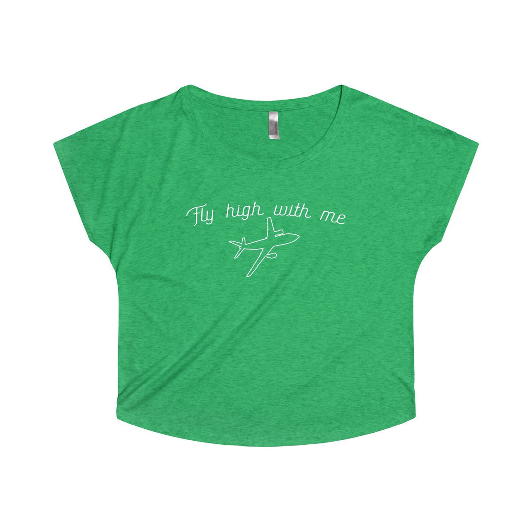 Fly High with Me Dolman Tee | numinous.co