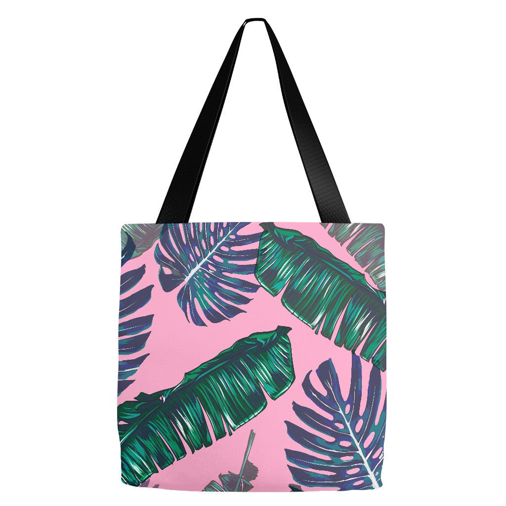 Pink and Palms Tote Bag | numinous.co