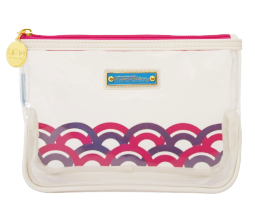 Berry Clear Carry On Quart Cosmetic Bag | numinous.co