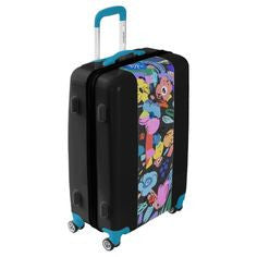 Mexico City Floral Spinner Suitcase | numinous.co