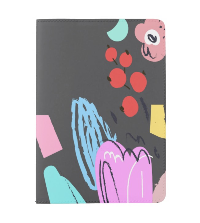 Mexico City Floral Passport Cover