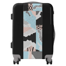 Modern Abstract Carry On Spinner Suitcase | numinous.co