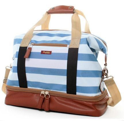 Midway Weekender Sky Stripes Tote Bag | numinous.co