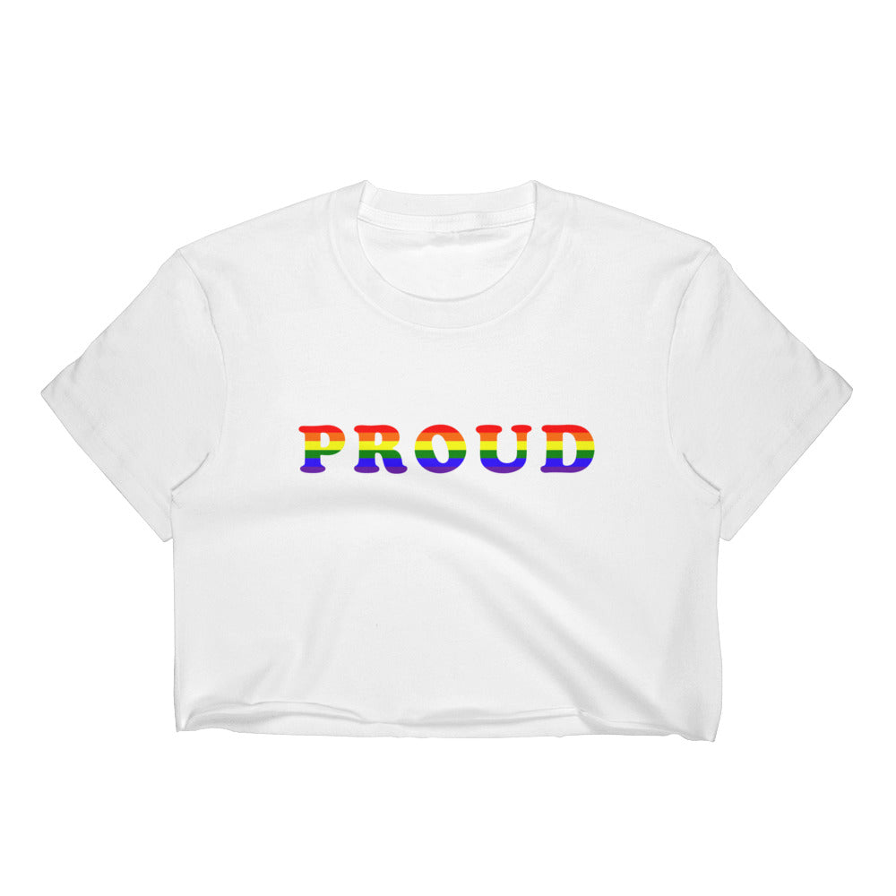 Proud Women's Crop Top | numinous.co