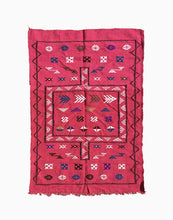 Hot Pink Moroccan Kilim Rug | numinous.co