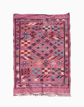 Pink Moroccan Kilim Rug | numinous.co