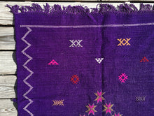 Purple Moroccan Kilim Rug | numinous.co