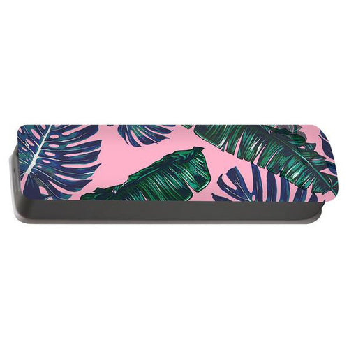 Pink And Palms Portable Battery Charger | numinous.co