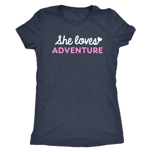 She Loves Adventure Tee | numinous.co