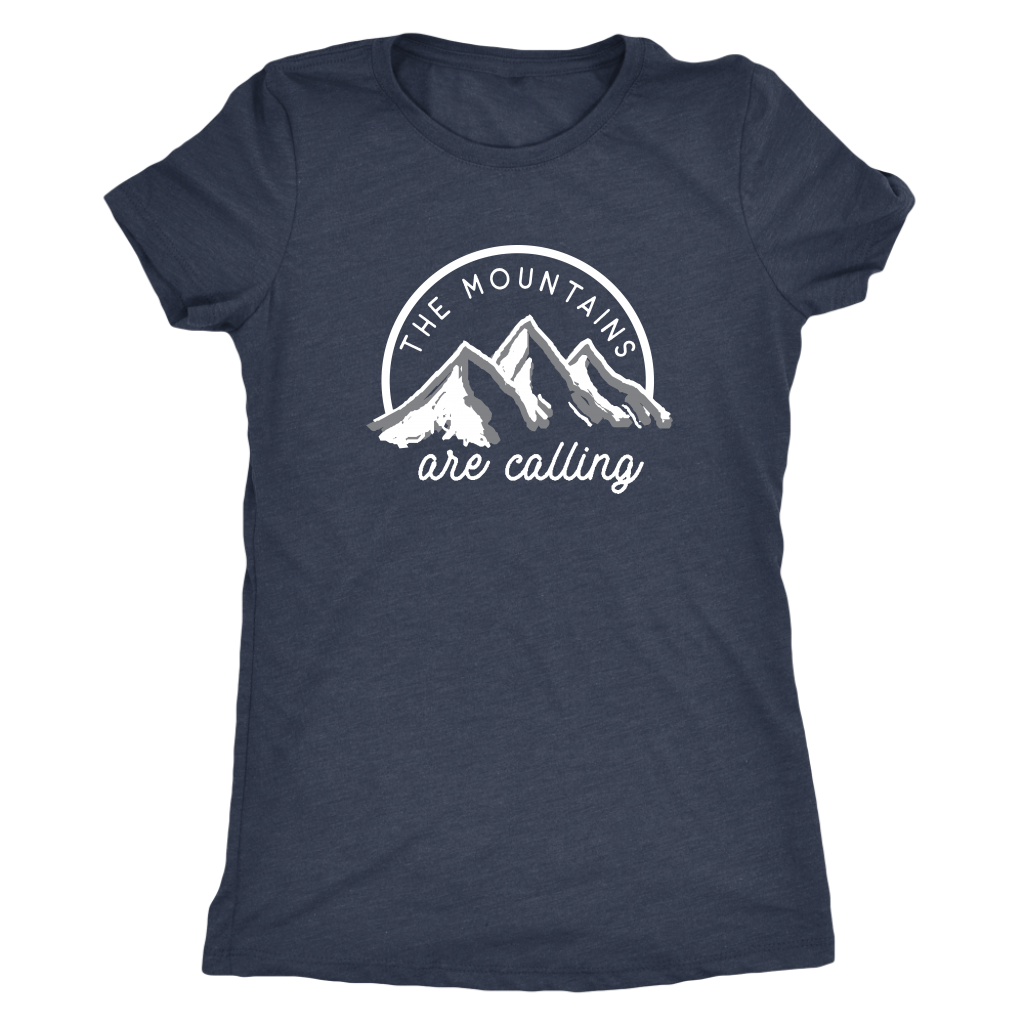 The Mountains are Calling Women's T-Shirt | Numinous.co