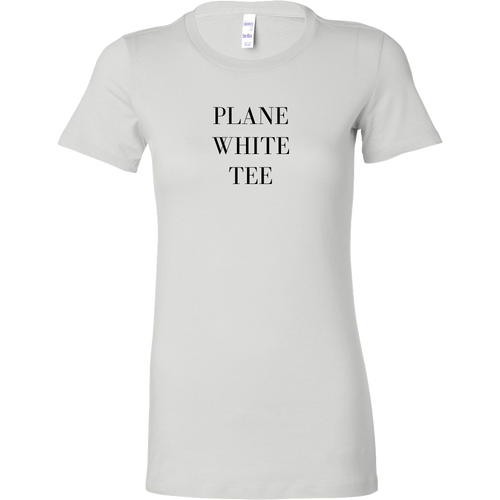 Plane White Tee | numinous.co