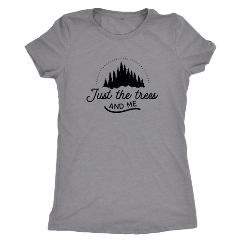 Just the Trees and Me T-Shirt | numinous.co
