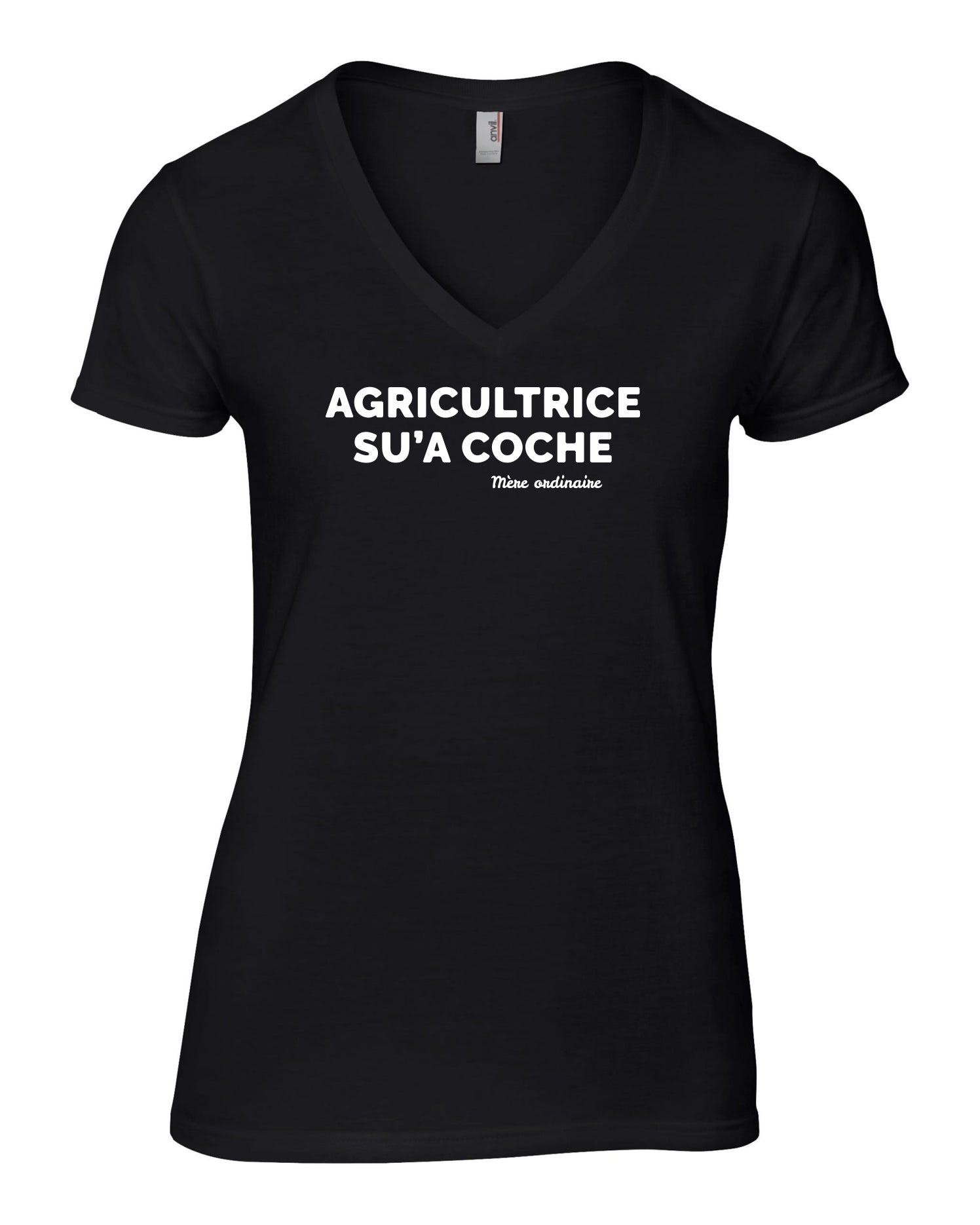 T-Shirt AGRICULTRICE SU'A COCHE