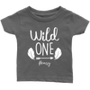 First 1st birthday wild one shirt