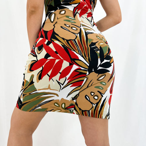 Cheetah Print Skirt [M]