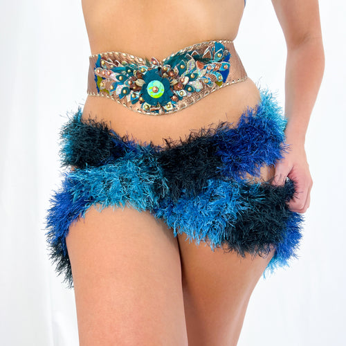 Vintage Black White + Red Plaid Double Breasted Blazer [M]