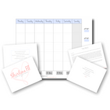 Printable Weight Loss Tracker Calendar: Basic
