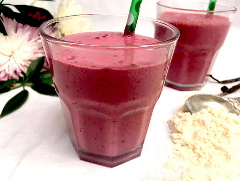 Cherry-Vanilla Protein Smoothie
