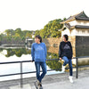 FUJIYAMA - INDIGO BLUE SWEATSHIRT - Japan Travel Planet