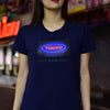 NEON TOKYO - NAVY - WOMEN'S TEE - Japan Travel Planet