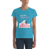 CATCH THE SAKURA WAVE - WOMENS TEE -  - Japan Travel Planet