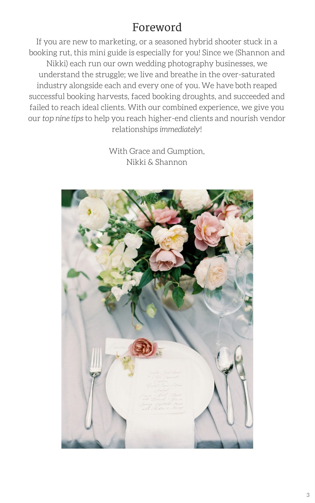 Mini Guide: High-end Marketing for the Hybrid Wedding Photographer