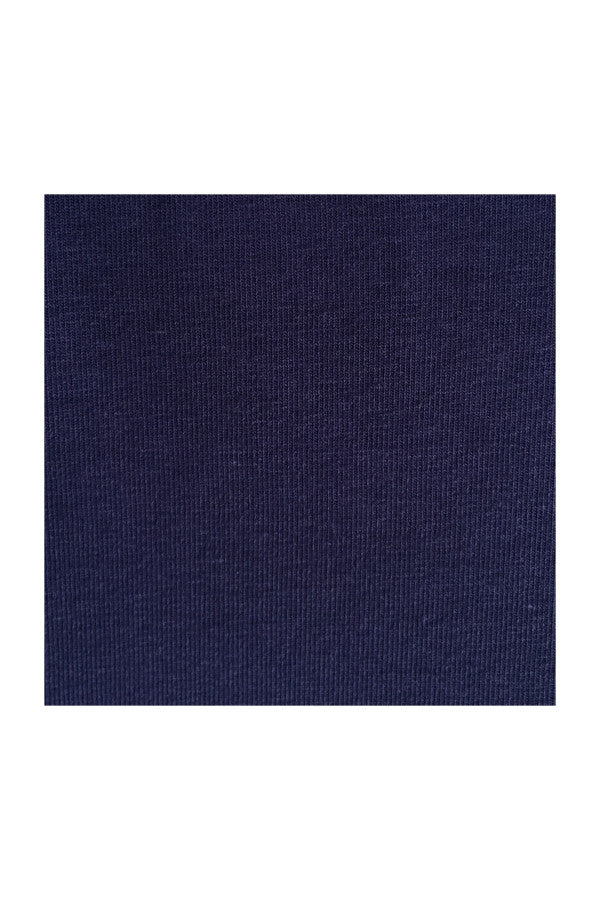 V Neck Tee Slim Fit - Navy