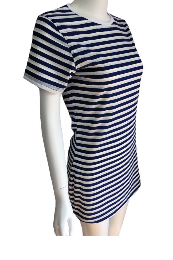 Tee Dress - Stripes