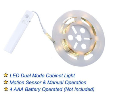 Motion-Activated LED Lighting