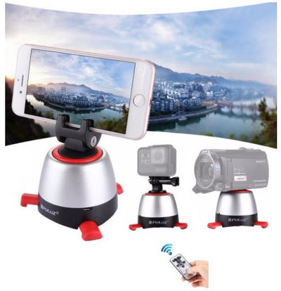 Sleek 360 Panoramic Tripod With Remote
