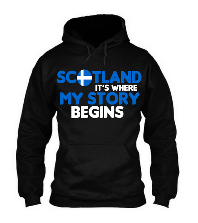 Scotland It's Where My Story Begins