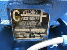 CULLEN FREISTADT MODEL 25 MOTORIZED WELDING POSITIONER 2500 LB CAPACITY