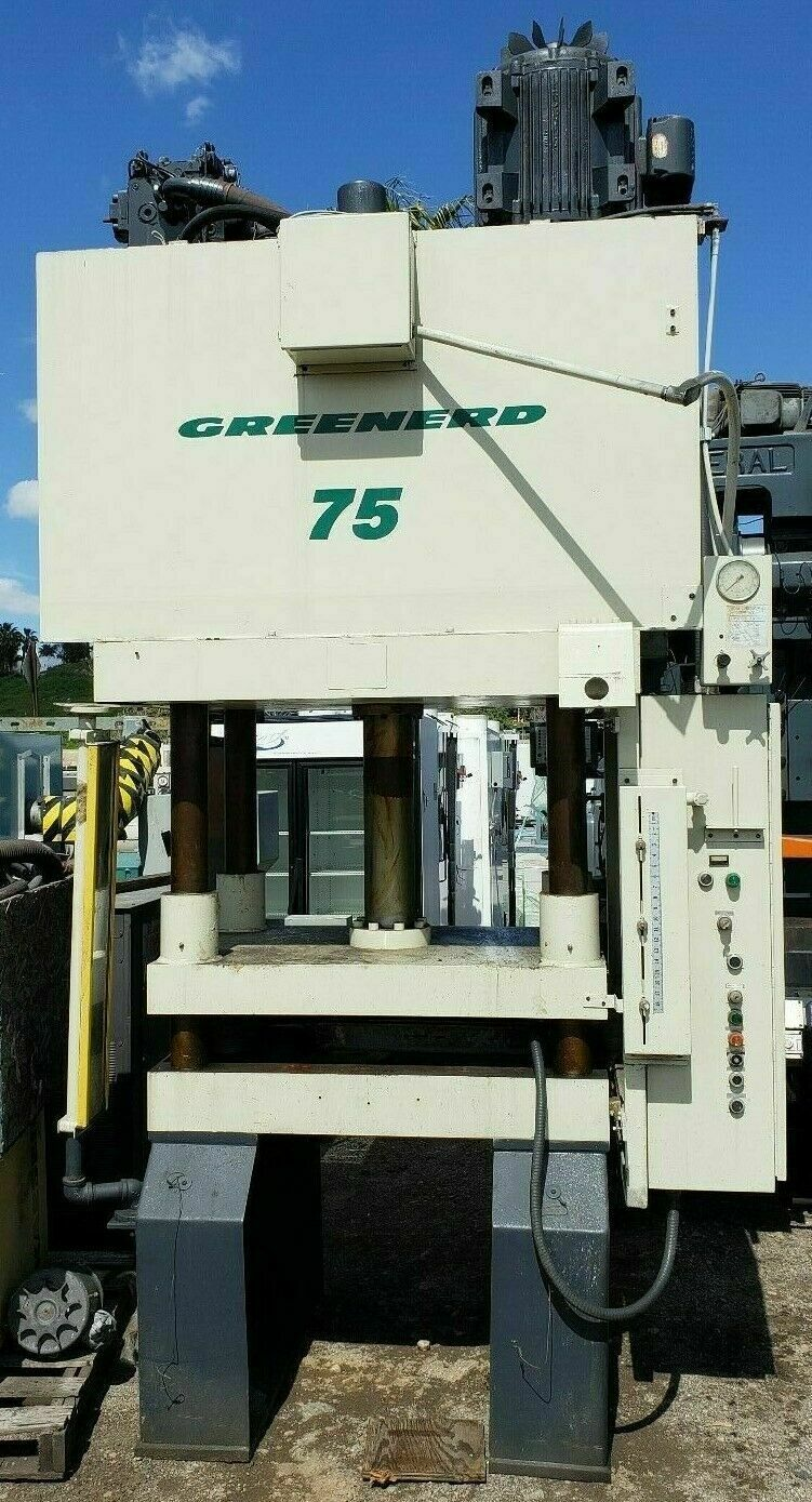 1999 GREENARD 75 TON HYDRAULIC PRESS 36