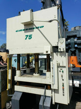 "1999 GREENARD 75 TON HYDRAULIC PRESS 36"" X 30"" MODEL 4D-75-36X30-75R37.5"