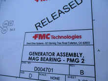 EXPENSIVE CUSTOM MAGNETIC BEARING GENERATOR ASSEMBLY