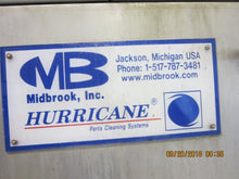 MIDBROOK HURRICAN MODEL 5024 4-STAGE PARTS WASHER / STAINLESS STEEL CONVEYOR