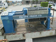 "PAC-PRESS MDL 800-10P4 FILTER PRESS 32"" X 19 SEGMENTS 200 SQ. FT. SURFACE AREA"