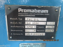 "PROMABEAM MODEL#PMC 8 AUTOMATIC COLD SAW / BEAM SAW 26"" BLADE MODEL PMC (OC533)"